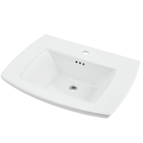 Edgemere Bathroom Sink Top  Center Hole Only  American Standard - White