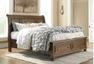 Flynnter - Medium Brown 3 Piece Bed Set (King) Product Image
