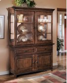 Larchmont - Burnished Dark Brown 2 Piece Dining Room Set Product Image