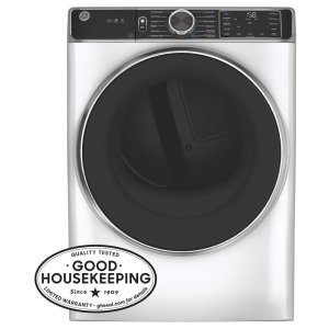 GEGE® 7.8 cu. ft. Capacity Smart Front Load Electric Dryer with Steam and Sanitize Cycle