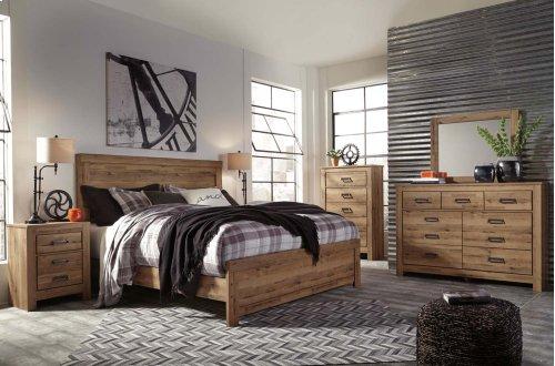 Cinrey - Medium Brown 3 Piece Bed Set (King)
