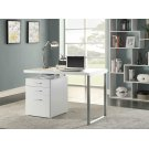 Contemporary White Writing Desk Product Image