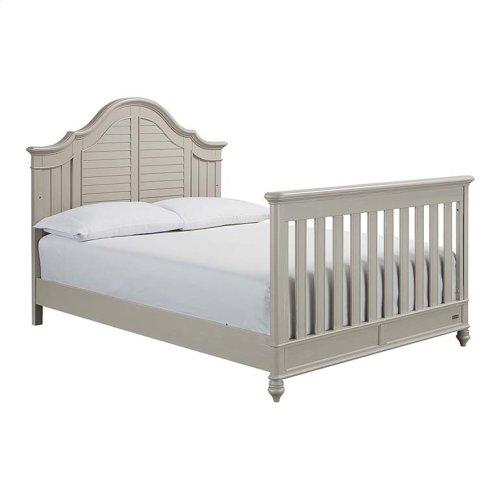Oyster Grey Nantucket 4 in 1 Convertible Crib