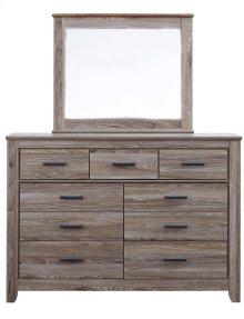 B248 Dresser & Mirror Set (Zelen)