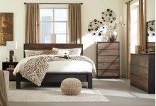 Windlore - Dark Brown 3 Piece Bed Set (King)