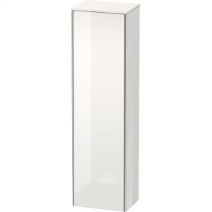 Tall Cabinet, White High Gloss Lacquer
