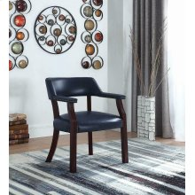 Modern Blue Guest Chair
