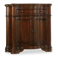 Living Room Waverly Place Shaped Hall Console Product Image
