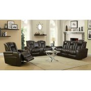 Delangelo Brown Power Motion Reclining Sofa Product Image
