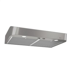 BroanBroan® 30-Inch Convertible Under-Cabinet Range Hood, Stainless Steel
