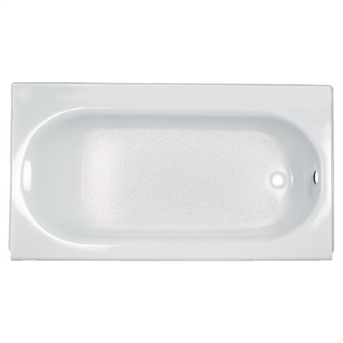 Princeton 60x30 inch Integral Apron Bathtub - Above Floor Rough-in  American Standard - Linen