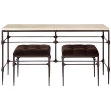 Ellsworth Metal Console Table