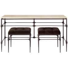 Ellsworth Metal Console Table