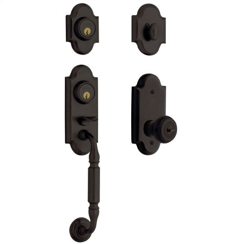 Oil-Rubbed Bronze Ashton Two-Point Lock Handleset