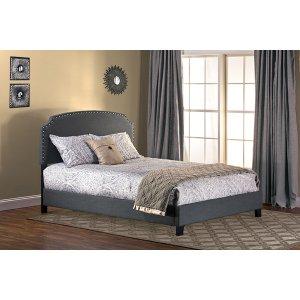 Lani Queen Bed - Dark Grey