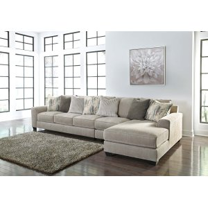 Ashley Furniture Ardsley - Pewter 3 Piece Sectional