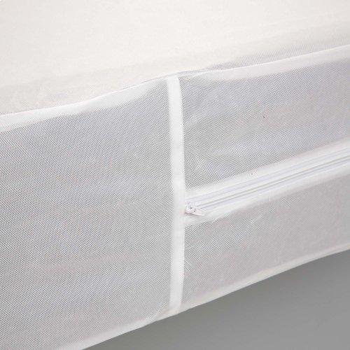Sleep Calm Zippered Nonwoven Box Spring Encasement with Bed Bug Defense, Twin