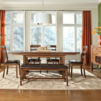 Santa Clara Trestle Dining Table Product Image