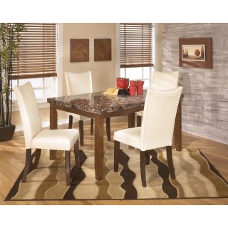 Lacey White 5 Piece Dining Room Set