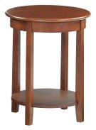 "GAC McKenzie Round Accent Table (19-1/2""D) Product Image"