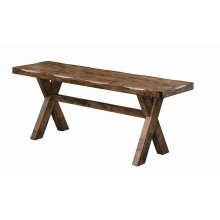 Alston Casual Knotty Nutmeg Bench