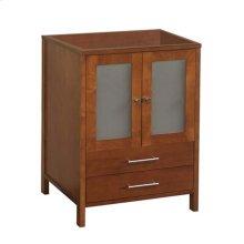 "Juno 24"" Bathroom Vanity Cabinet Base in Cinnamon"
