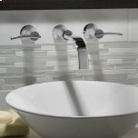 American StandardBerwick Wall-Mounted Faucet - Lever Handles  American Standard - Polished Chrome