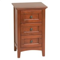 GAC Small 3-Drawer McKenzie Nightstand Product Image