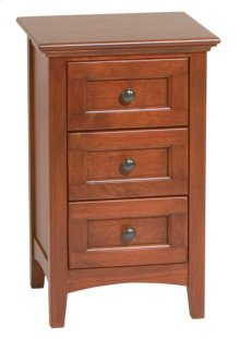 GAC Small 3-Drawer McKenzie Nightstand
