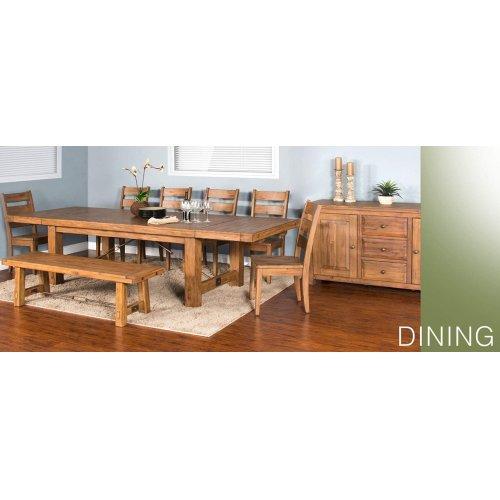 Sierra Bench w/ Turnbuckle w/ Wood Seat