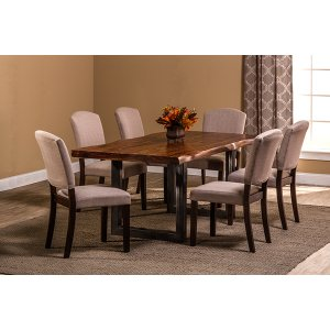 Hillsdale FurnitureEmerson 7-piece Rectangle Dining Set - Natural Sheesham