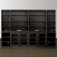 """Peppermill Commonwealth 96"""" Credenza with Hutch"""