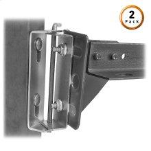 Bed Frame Swing Hinge (Style # 67) Pair for Split King Beds, 2-Pack