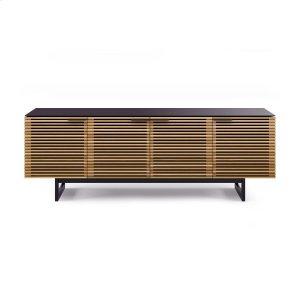 Bdi FurnitureQuad Width Cabinet 8179 in White Oak