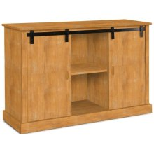 Jane Barn Door Entertainment Center