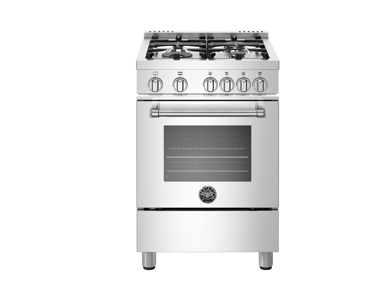 24 inch All Gas Range, 4 Burners Stainless Steel  STAINLESS STEEL