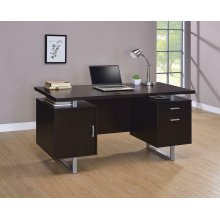 Glavan Contemporary Cappuccino Office Desk