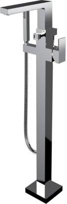 Floor Mount Tub Filler in Polished Chrome Product Image