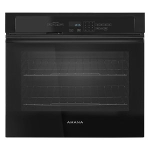 AMANA4.3 cu. ft. SIngle Thermal Wall Oven Black