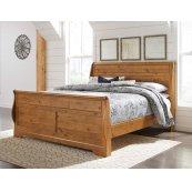 Bittersweet - Light Brown 3 Piece Bed Set (King)