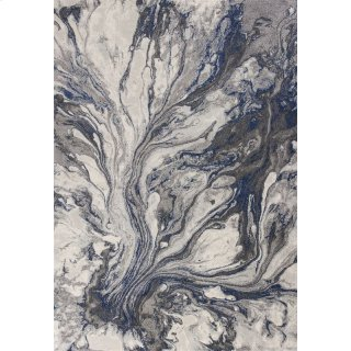 "Illusions 6202 Grey Watercolors 5'3"" X 7'7"""