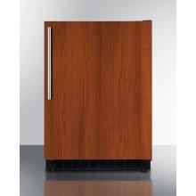 Built-in Undercounter ADA Compliant All-refrigerator With Panel-ready Door, Black Cabinet, Door Storage, and Digital Controls