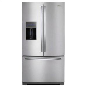 Whirlpool36-inch Wide French Door Refrigerator - 27 cu. ft. Fingerprint Resistant Stainless Steel