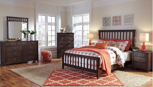 Queen Panel Bed ***CLOSEOUT WHILE THEY LAST***