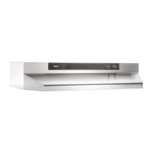 "24"" 220 CFM Stainless Steel Under-Cabinet Range Hood"