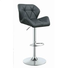 Contemporary Grey Adjustable Bar Stool