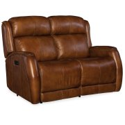 Living Room Emerson Power Recliner Loveseat w/ Power Headrest Product Image