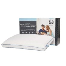 Premium Chill - Cooling Memory Foam And Support Gel Bed Pillow - Single Pillow