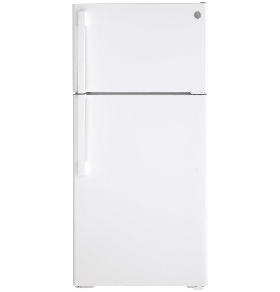 GEEnergy Star® 15.6 Cu. Ft. Top-Freezer Refrigerator