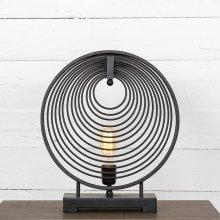Antiqued Iron Finish Rowan Table Lamp